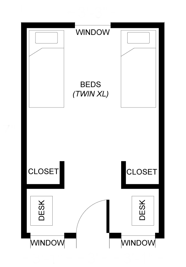 Residence Halls furthermore 25 More 3 Bedroom 3d Floor Plans additionally Farm Porch also Two Story Floor Plan Hospital additionally Mtelo. on shared bathroom floor plans