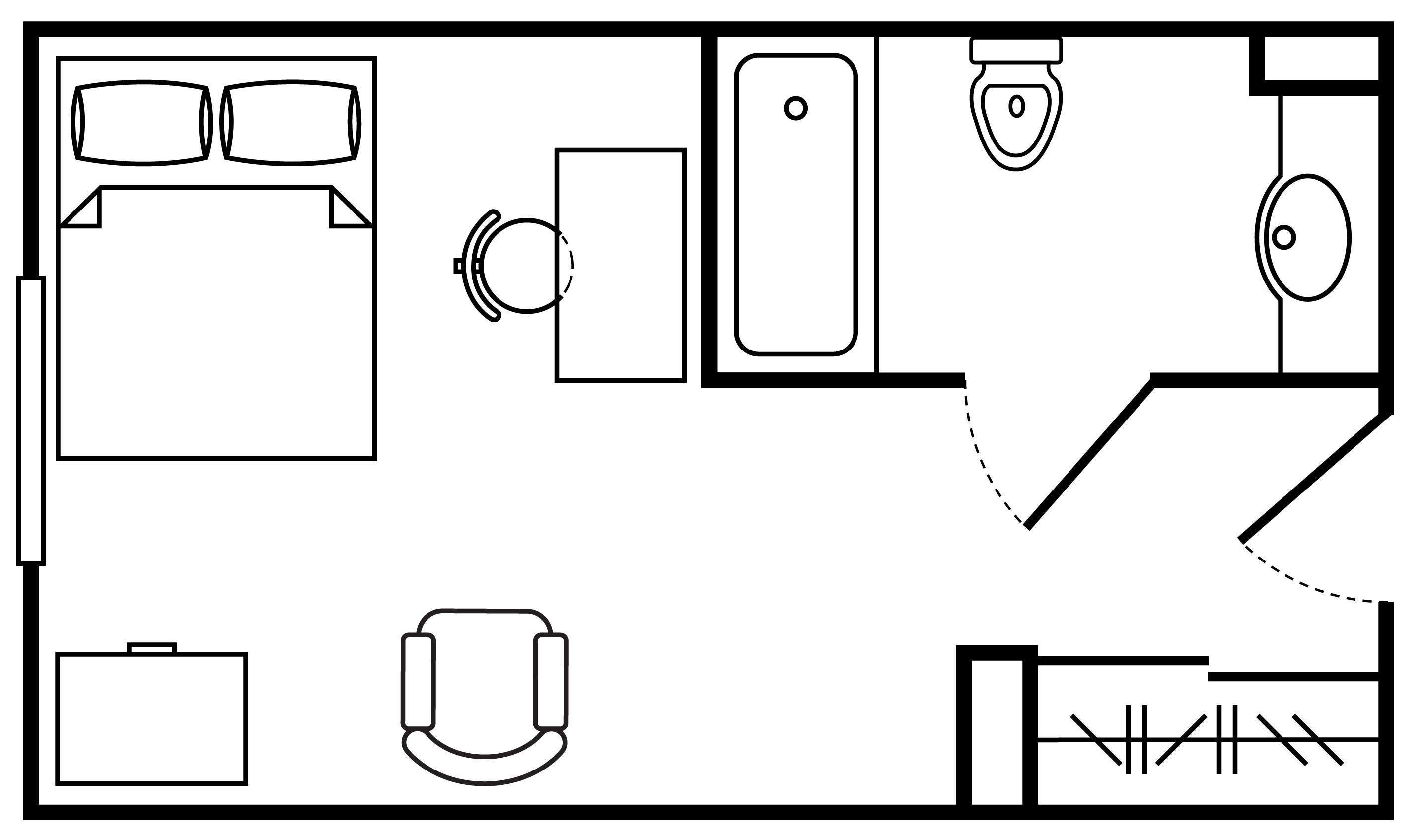 Floor Plan Private Room Private Bath