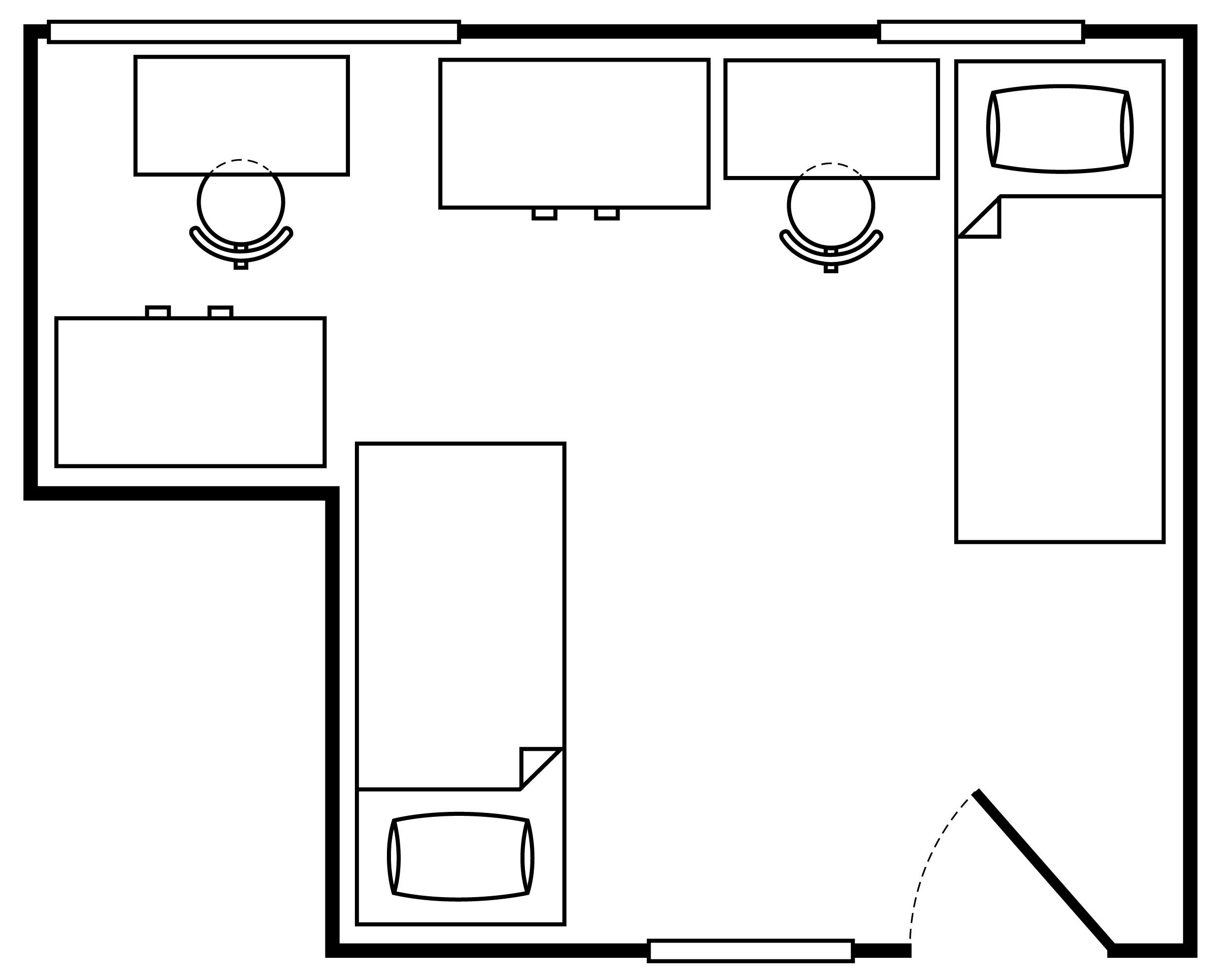 Floor Plan Irish Hall